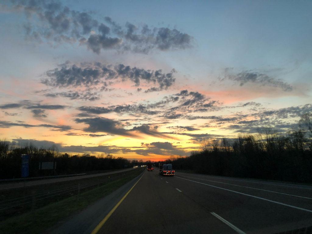 Jim West Collierville TN Landscape Sunset
